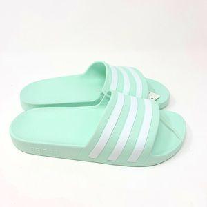 Adidas adilette slides size 8